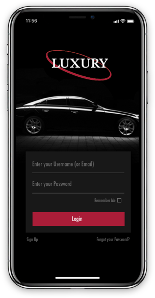Luxury Car App